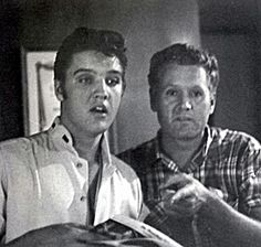 Elvis and Vernon Presley (Where are They Looking at?)