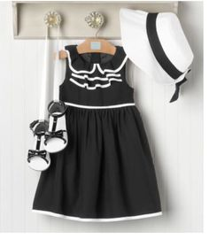 Black and white dress 3t