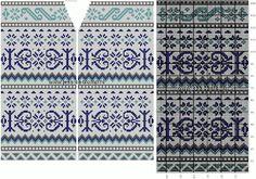 Обсуждение на LiveInternet - Российский Сервис ОнРFair Isle Knitting Patterns, Knitting Charts, Knitting Stitches, Fair Isle Chart, Scandinavian Pattern, Rubrics, Mittens, Free Pattern, Cross Stitch
