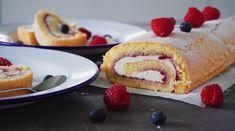 Piškotová roláda Baked Goods, Pancakes, Baking, Breakfast, Pastries, Food, Treats, Sweet, Morning Coffee