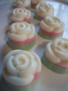 Wedding Truffles,12 hand made Almond Chocolate Rose Truffles, 1 Dozen Truffles Almond Chocolate