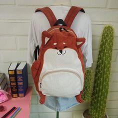 Aliexpress.com: Comprar 2016 Japonés animales lindos de la historieta bolsas mochila de escuela para niñas pana mochila estudiantes de secundaria bolsa de mayor capacidad de mochila bolsa de pañales fiable proveedores en melisa white's store
