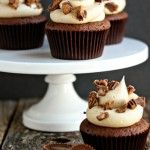 reeses cup cupcakes