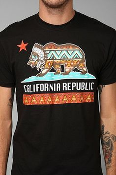 Riot Society California Republic Tee