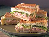 Foccacia Panino Recipe - Twist on a tuna sandwich  Didn't use the lettuce but pretty good nonetheless.