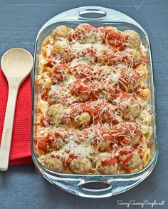 An Easy Easter Make Ahead Meal: Cheesy Turkey Meatball Casserole Using Kraft Fresh Take