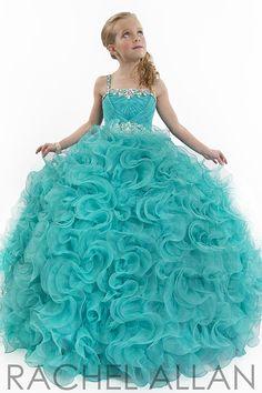 Perfect Angel Pageant Dress 1566 By Rachel Allan | Girls Pageant Dress