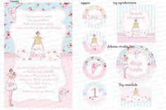 Kit digital Tildas - Charme Papeteria #tildas #bonecas #festa #festatildas #bonecatilda #kitfestatilda #personallizados #floral #delicado #menina #papelariafesta
