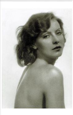 Greta Garbo. Photo: Ruth Harriet Louise. This photograph was used on the dust cover of her biography by Alexander Walker
