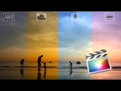 Fix White Balance / Color Balance for Video Using FCPX (Final Cut Pro X) - YouTube