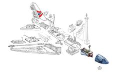 Behind the scenes of British Airways' new poster campaign | Posters | Creative Bloq