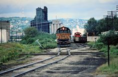 Milwaukee Road (East) by John F. Bjorklund – Center for Railroad Photography & Art Railroad Photography, Art Photography, Superior Wisconsin, Railroad History, Milwaukee Road, Burlington Northern, Train Pictures, Rolling Stock, Model Trains