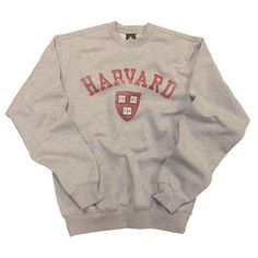 Harvard Sweatshirt Crew Team Vintage Heather Grey (59 CAD) ❤ liked on Polyvore featuring tops, hoodies, sweatshirts, sweaters, shirts, sweatshirts hoodies, heather gray shirt, heather gray sweatshirt, heather grey shirt and sweat tops