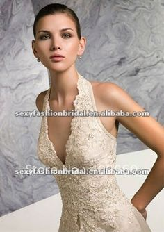 Love the lacy halter top.
