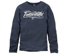 Men's Long Sleeve Linear Logo T-Shirt - Timberland