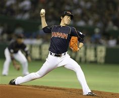 FILE - In this March 10, 2013 file photo, Japan's starter Kenta Maeda delivers a pitch against the Netherlands in the first inning of their World Baseball Classic second round game at Tokyo Dome in Tokyo. (AP Photo/Toru Takahashi, File) ▼4Dec2015AP|Japanese pitcher Maeda cleared to negotiate with MLB teams http://bigstory.ap.org/article/4c8b130dbcfd4664be2d1c1948b48b71 #前田健太 #Kenta_Maeda