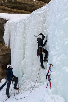 Starved Rock Ice Climbing | 1000 Days Between
