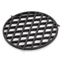 Weber Round Porcelain-coated Cast Iron Grilling Grate at Lowe's. Grill up your favorite meats with the Weber sear grate insert. Get perfect sear marks every time. This grate insert was made from porcelain-enameled cast Clean Grill, Bbq Grill, Grilling, Weber Barbecue, Weber Grill, Carne Asada, Bbq Grates, Bbq World, Gourmet