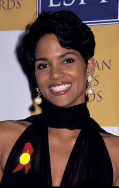 Halle Berry young and fun