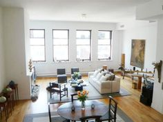 SoHo Opulent duplex NYC Loft Lofts, Soho, Nyc, Table, Furniture, Home Decor, Loft Room, Loft, Decoration Home