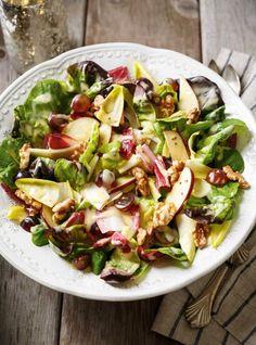 Ricardo's recipe: Boston Lettuce and Endives Salad Soup And Salad, Pasta Salad, I Love Food, Good Food, Lettuce Salad Recipes, Boston Food, Ricardo Recipe, 20 Min, Vanilla