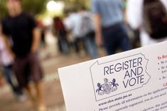 If you are planning to cast your ballot in the upcoming Primary Election and haven't registered to vote yet, time is running out.