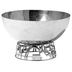 Karl Hagenauer, Fruit Bowl, Art Deco | From a unique collection of antique and modern bowls at https://www.1stdibs.com/furniture/dining-entertaining/bowls/