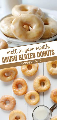 Delicious Donuts, Delicious Desserts, Yummy Food, Just Desserts, Dessert Recipes, Breakfast Recipes, Breakfast Dishes, Cake Recipes, Donut Recipes