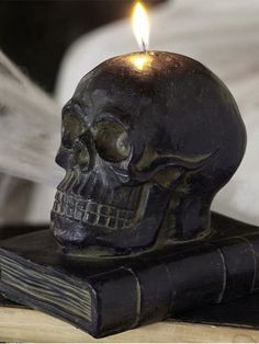 skull candle...