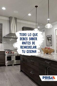 Nueva cocina, nueva vida: averigua qué necesitas para renovar tu cocina.