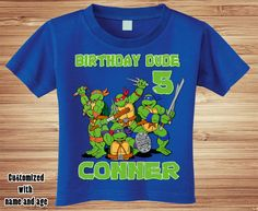 Personalized TMNT Teenage Mutant Ninja by ForgetMeNotShoppeXO
