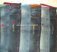 e10869cf911e8 Bermudas Jeans Masculinas Marcas e Tamanhos já vem Sortidas - 6 Peças