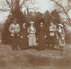 Olga, Maria, Tatiana and Anastasia ~ 1913