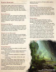 Sorcerer Elemental Origins by AtomicAcid