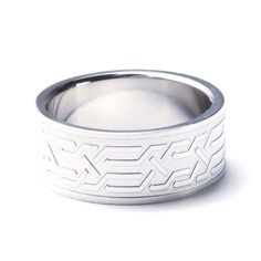 Stainless Steel Pathway Ring (Size: 8)