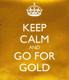 WHEN CURRENCIES DEVALUE DUE TO INFLATION - KEEP CALM AND GO FOR GOLD!  #KeepCalmCarryOn #GoForGold
