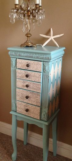 Jewelry Armoire Makeover I have an identical armoire I should do