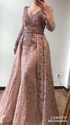 Luxury Arabic Evening Gowns with overskirt (Blue/Pink/Black/.-Luxury Arabic Evening Gowns with overskirt (Blue/Pink/Black/Grey) - Evening Gowns With Sleeves, Evening Dresses, Formal Gowns With Sleeves, Pink Evening Dress, Afternoon Dresses, Prom Girl Dresses, Bridal Dresses, Flapper Dresses, Hijab Dress Party