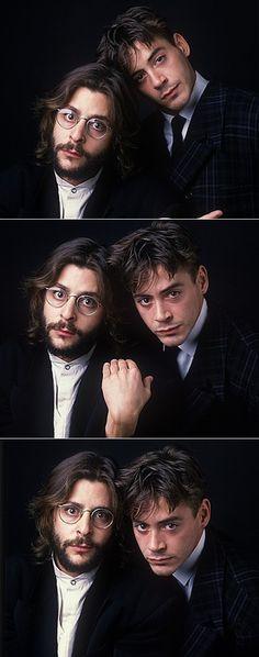 Judd Nelson e Robert Downey J