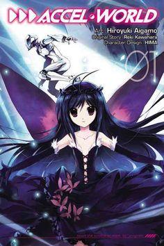 Accel World, Vol. 1 - manga (Accel World (manga)) by Reki Kawahara 9780316335867 Light Novel, Sword Art Online, Online Art, Accel World, World Tv, Anime Episodes, Elegant Girl, Thing 1, Online Anime