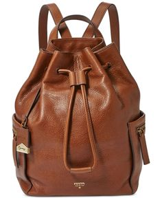 Fossil Vickery Leather Large Backpack