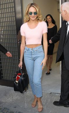 Candice Swanepoel in Jeans #StreetStyle