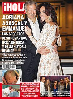 Adriana Abascal y Emmanuel, los secretos de su romántica boda en Ibiza y su historia de amor