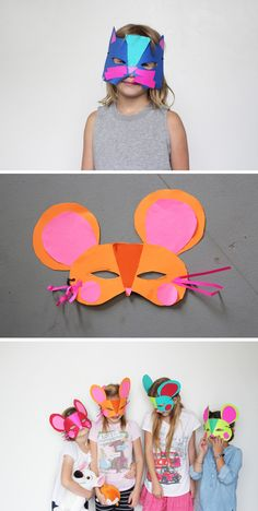 Kids Craft Camp: Animal Unit + Cat and Mouse masks
