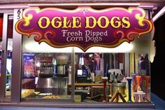 Fannie Farkles' Ogle Dogs in Gatlinburg are a footlong feast on a stick Pigeon Forge Restaurants, Gatlinburg Restaurants, Pigeon Forge Hotels, Chalets In Gatlinburg, Gatlinburg Vacation, Gatlinburg Tennessee, Smoky Mountains Attractions, Smoky Mountains Cabins, Great Smoky Mountains