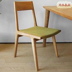 RMB 430   成人2013木质日式橡木餐椅 家具 实木餐桌 坐具 新品特价-淘宝网