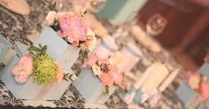 Свадьба в стиле Тиффани от Студии Декора Финнарт