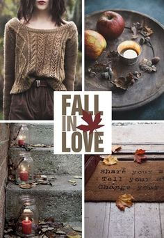 moodboard - red / brown fall