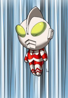 Anpanman makes me think of Ultraman, cartoonified here.