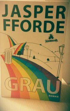 Grau von Jasper #Fforde #Scifi #Roman  Diese Geschichte ist so anders und bleibt im Gedächtnis. Mein Lesetipp für die graue Jahreszeit.